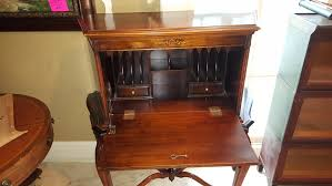 antique french carved walnut