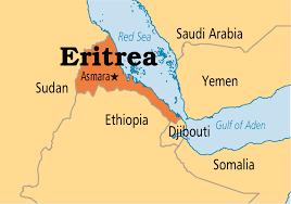 africa map eritrea manarates information about eritrea