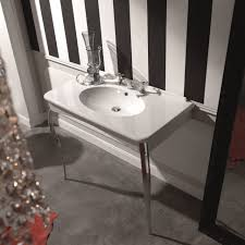 vessel sinks 34 singular vintage console sink photo design