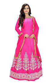 rani pink colour buy sarvam bollywood deginer semi stitched salwar suit kriti sanon