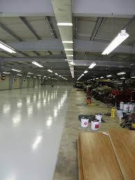 Commercial Epoxy Floor Coating Auto Shop Flooring Armorpoxy