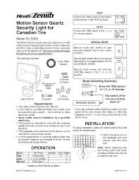 defiant motion sensor manual share the knownledge electronics