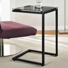 c sofa table wrought studio bonetti c shaped end table reviews wayfair