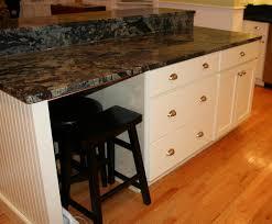 step down kitchen island with beadboard kitchen islands