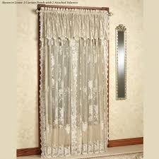 Criss Cross Curtains Curtains With Attached Valance Rod Curtain With Attached Valance