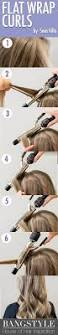 how to curl your hair 6 different ways to do it straightners