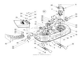 mtd 13ak608g129 2000 parts diagrams