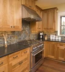 what color backsplash goes with honey oak cabinets beautiful kitchen backsplash decoration ideas frugal