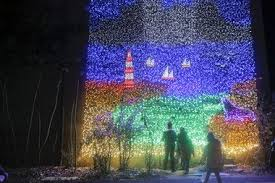 zoolights adds thousands more lights tries to thin crowds with