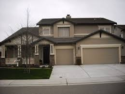 modern exterior design ideas brown roofs exterior colors and