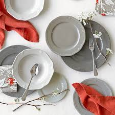 pillivuyt eclectique dinnerware place setting grey williams sonoma