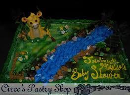 Lion King Baby Shower Cake Ideas - brooklyn baby shower cakes bushwick fondant baby shower cakes