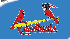 st louis cardinals and the new patriots birds