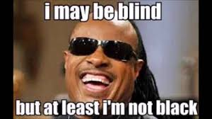 Im Funny Memes - i may be blind but atleast i m not black funny