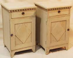 pair of swedish bedside tables stock blanchard collective