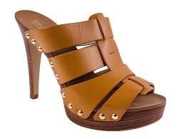 Mule Sandals Michael Kors Women U0027s Somerly High Heel Mule Sandals Shoes Ebay
