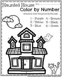 free math worksheet halloween counting 1 5 practice numbers
