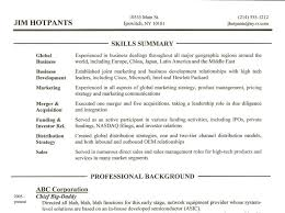 Skills Section Of Resume Resume Examples Skills Section How To Write A For 23 Stunning In