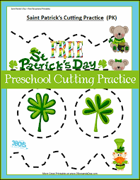 scissor st s day printables preschool cutting practice 3