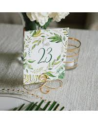 silver wedding table numbers amazing deal on set of 12 gold wedding table number holders set of