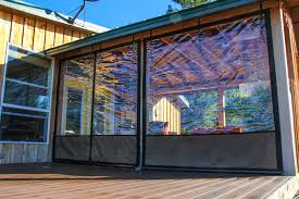 Patio Enclosure Screens Vinyl Window Coverings For Screened In Porch Weather Proof Your