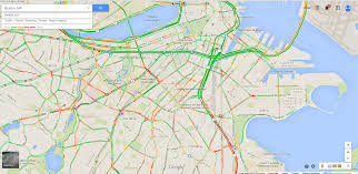 Maps Traffic Google Traffic Maps Are Really Difficult To Read As A Red Green