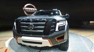 Nissan Titan Concept Nissan Adds Some Heavy Off Road Flavoring For The Titan Warrior