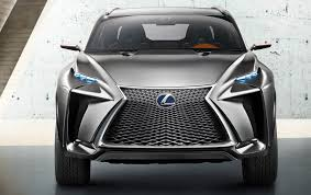 lexus suvs lexus nx suv previewed by radical concept photos 1 of 5