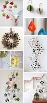 diy monday paper christmas ornaments ohoh blog