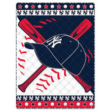 Yankees Crib Bedding Mlb New York Yankees Crib Bedding Set Baseball Quilt Bumper 08cr