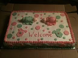 baby shower cake for twin girls auntie lovings pinterest