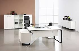 Modern Office Desk White White Modern Office Desk With Drawers Greenville Home Trend