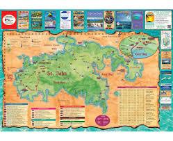 St John Map Maps Of British Virgin Islands Detailed Map Of British Virgin