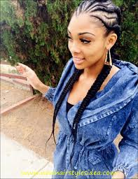 cornrow hairstyles for black women with part in the middle cornrow hairstyles black women hairstyles ideas