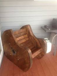 Cable Reel Chair Wooden Cable Reel Chairs Available To Buy Made To Order