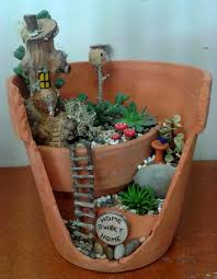 Pinterest Fairy Gardens Ideas by This That And Everything Inbetween Mini Gardening Pinterest