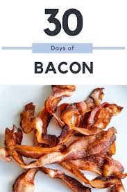 what happens when you eat nothing but bacon for 30 days straight
