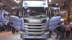 volvo 18 wheeler scania r 500 b6x2 4nb tractor truck 2017 exterior and interior