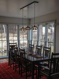 kitchen table lighting ideas dining room table lighting