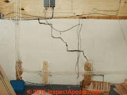 Block Basement Wall Repair by Diagnose U0026 Evaluate Step Cracks In Concrete Block Walls Foundations