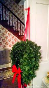 Outdoor Hanging Christmas Decorations How To Hang Outdoor Wreaths Without A Ladder U2013 Scraps Of Life