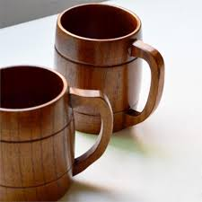 handmade mugs aliexpress com buy eco friendly oak wooden handmade mugs for