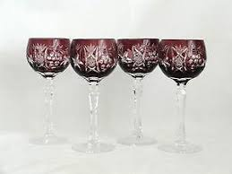 Vintage Bohemian Lead Crystal Candle Holder For Three Candles Bohemian Glass Ebay