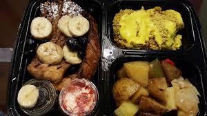 o fr cuisine breakfast slam with fr toast scrambled tofu and potatoes yelp