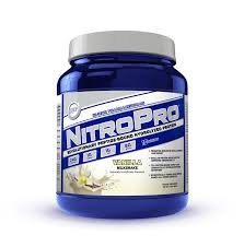 Amazon Com Pure Branched Chain Amino Acids Bcaa Powder Nitropro Whey Protein Supplement For Building Muscle U2013 Hi Tech