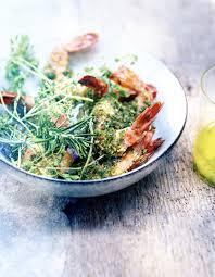 comment cuisiner les gambas gambas croustillantes gremolata herbes ail et citron vert pour 6
