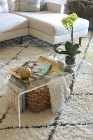 best 25 lucite coffee tables ideas on pinterest acrylic table