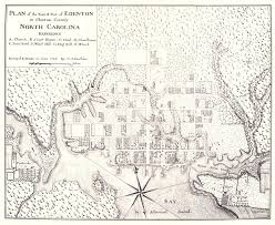 County Map Of North Carolina File Map Of Edenton Chowan County North Carolina 1769 Jpg