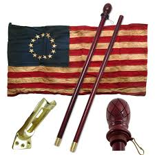 Star Flags Valley Forge Betsy Ross 13 Star Heritage Series Flag Kit
