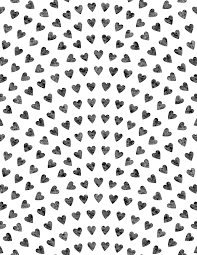 heart wrapping paper printable wrapping paper hearts printables and charts
